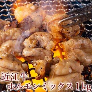 近江牛ホルモンミックス(たれ漬け)1kg(250g×4パック) 冷凍便