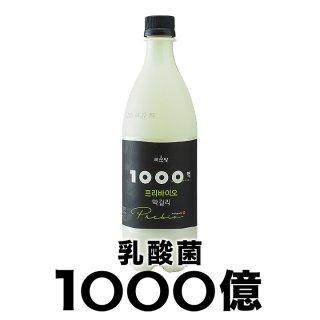 麹醇堂 1000億プリバイオマッコリ 750ml 常温便・クール冷蔵便可