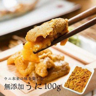 ウニ100g チリ産 ミョウバン不使用 無添加うに ブランチウニ 形不揃いご自宅用に  冷凍限定