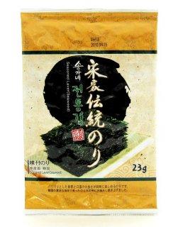 宋家の伝統のり 全形6枚入り  海苔 韓国海苔 韓国味付け海苔 味付のり 常温・クール冷蔵・冷凍便可