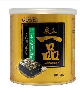 宋家一品のり(缶) 海苔 韓国海苔 韓国味付け海苔 味付のり 常温・クール冷蔵・冷凍便可