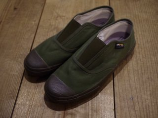 REPRODUCTION OF FOUND   ITALIAN MILITARY TRAINER(SLIP-ON)