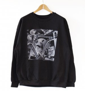<img class='new_mark_img1' src='https://img.shop-pro.jp/img/new/icons1.gif' style='border:none;display:inline;margin:0px;padding:0px;width:auto;' />M.C.Escher Crew Neck Sweat(マウリッツ・エッシャー スウェット)