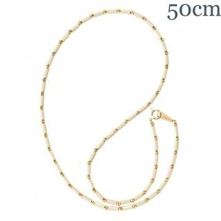 アスカホワイト K18YG 50cm