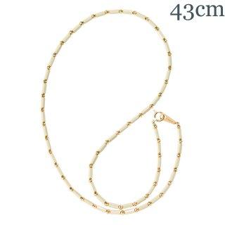 アスカホワイト K18YG 43cm