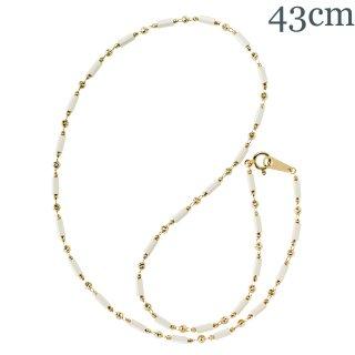 オリンポスホワイト K18YG 43cm