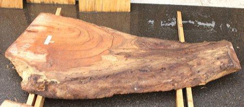 けやき板 H1300 W500 D60(自然乾燥材)
