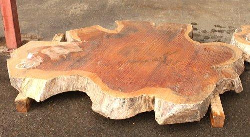 けやき板 H1750 W1250 D120(自然乾燥材)