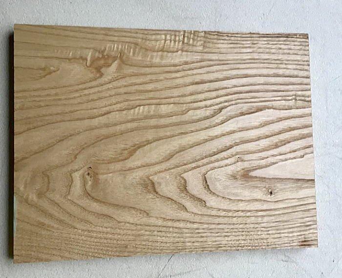 広葉樹板 H300 W300 D25 撥水加工あり