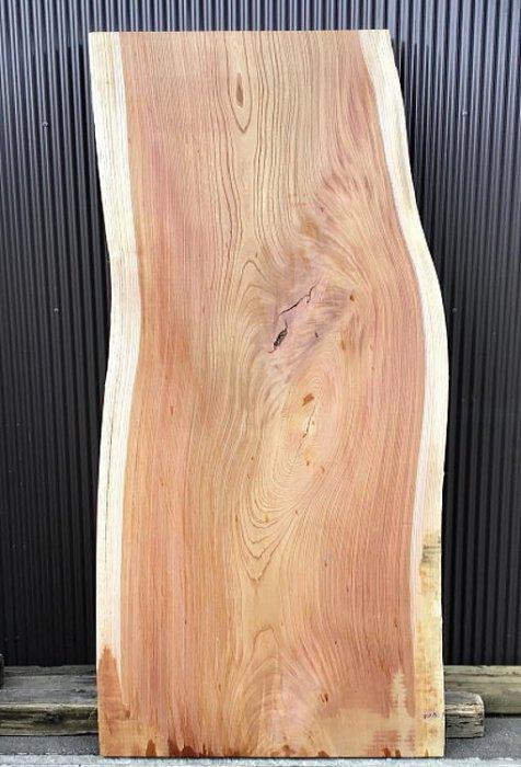 ケヤキ板 H2200 W900 D50(自然乾燥材)