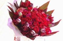 赤いバラ花束 15,000円〜5万円