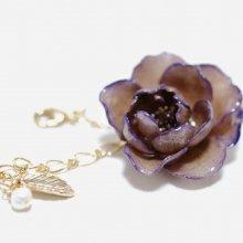 紫のバラのブレスレット・パープル