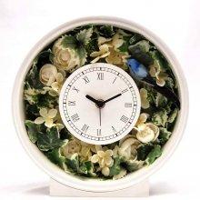 花の時計・スノーホワイト