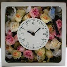 花の時計・ローズ(マルチカラー)