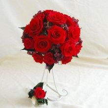 薔薇のラウンドブーケ(プリザーブドフラワー)
