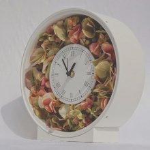 花の時計・紫陽花時計