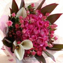 銀婚式花束・25年目の結婚記念日