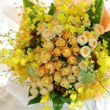 金婚式花束・50年目の結婚記念日祝い
