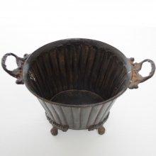 ブラスベース・真鍮花器S(h16x21x18)