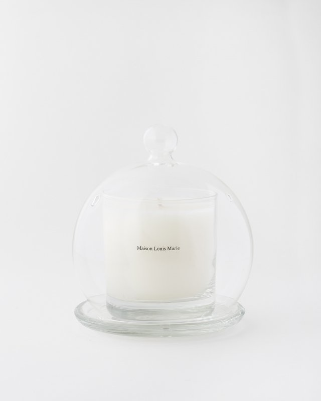 Maison Louis Marie  Glass Cloche for Candle