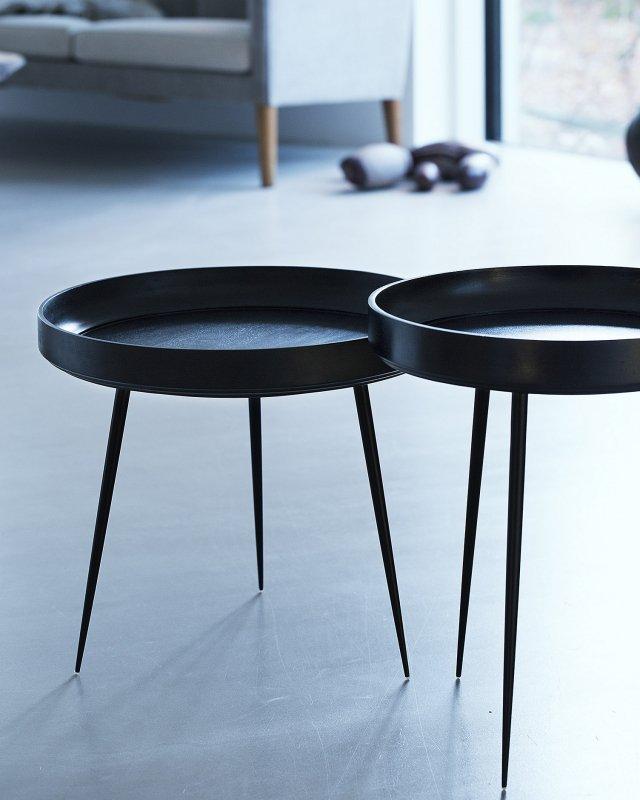 mater  Mango Bowl table - M Black