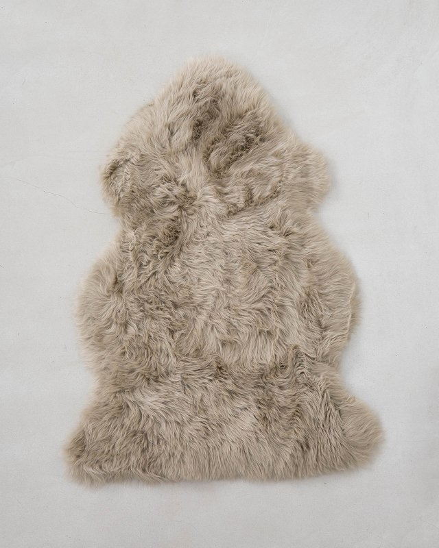 NATURES COLLECTION  Sheep Skin-Light brown