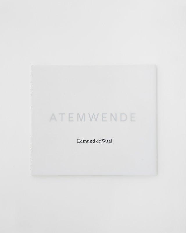 Edmund de Waal  Atemwende