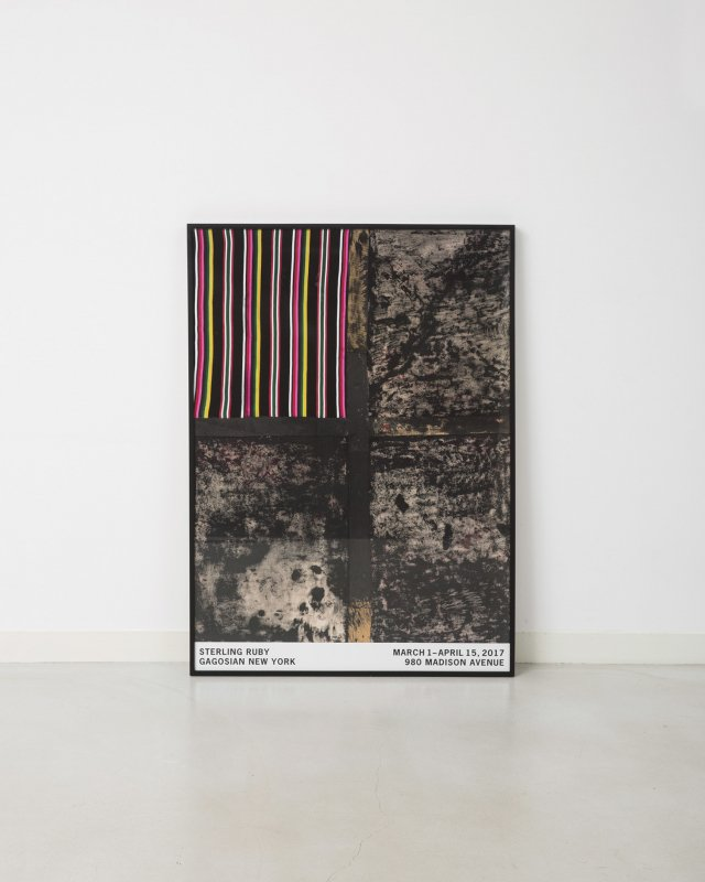 Sterling Ruby  ENGULFED COROLLA Poster
