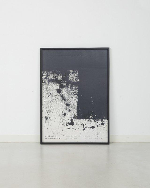 Richard Serra  Drawings 2015–2017 Poster