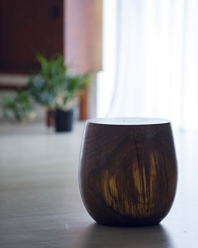 George Peterson  Wooden stool no.5