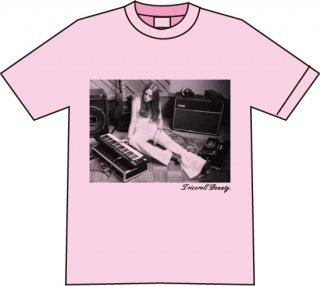 フォトTシャツ/シャーベットピンク