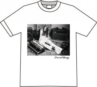 フォトTシャツ/ホワイト