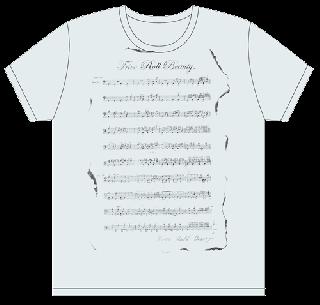 ドラム譜 Tシャツ/シャーベットブルー