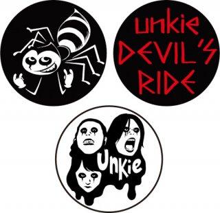 DEVIL'S RIDE バッジ (3個セット)