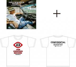JAM CRACKER MUSIC 3+ JAM CRACKER オリジナルTシャツ セット