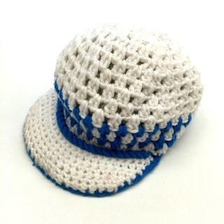 ラスタ帽 ホワイト