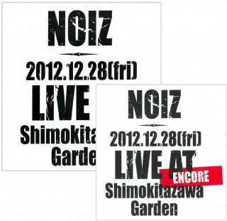 CD『NOIZ AT Shimokitazawa Garden』