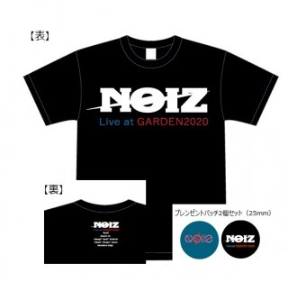 Tシャツ『限定 NOIZ Live at GARDEN 2020』