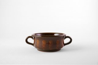 MAHITO POTTERY 比呂 [笠間焼]<br>Line スープ皿