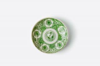 [江戸から近代の器]<br>小皿(扇子と満月)