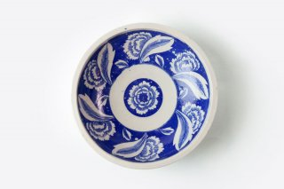 [江戸から近代の器]<br>6.5寸鉢(草花模様)
