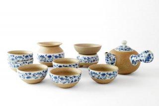 [台湾の茶器]<br>中国茶セット茶道具一式