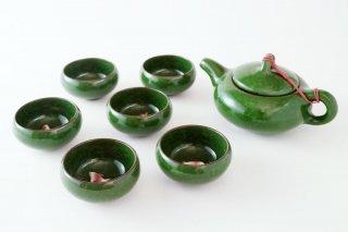 [台湾の茶器]<br>茶道具一式 金魚