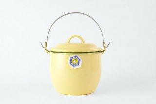 [Rabbit Brand(タイ)]<br>ホーローの小さな鍋 黄色