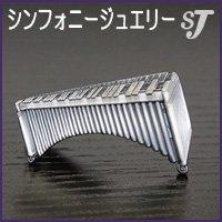 ネクタイピン シルバー マリンバ スタンダード タイバー MM-80T/MR/S ミュージックカラーショップ(旧ミュージックアミューズ)