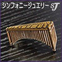 ネクタイピン ゴールド マリンバ スタンダード タイバー MM-80T/MR/G ミュージックカラーショップ(旧ミュージックアミューズ)