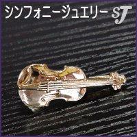 ネクタイピン ゴールド バイオリン スタンダード タイバー MM-80T/VI/G ミュージックカラーショップ(旧ミュージックアミューズ)