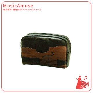 バイオリン ポーチ ブラック LN8615-01 ミュージックカラーショップ(旧ミュージックアミューズ)