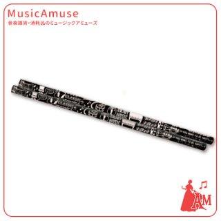 鉛筆(2B) ミュージックライフ ML35PE ミュージックカラーショップ(旧ミュージックアミューズ)