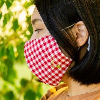 ハッピーマスク ト音記号/キウイカラー